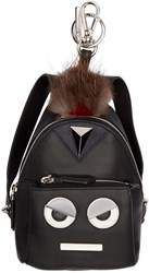 Fendi Black Eye Don't Think So Mini Backpack Keychain