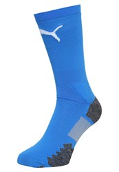 Puma Match Crew Sports Socks Royal White Blue