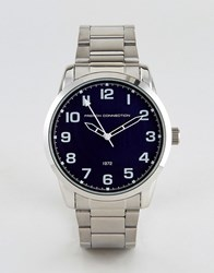 French Connection Watch Stainless Steel Silver