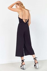 Finders Keepers Vivid Dream Cowl Neck Jumpsuit Black