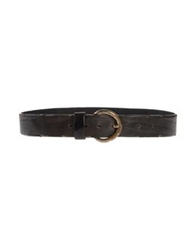 Jo No Fui Belts Dark Brown