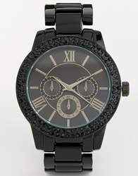 Aldo Werrawen Black Chronograph Watch