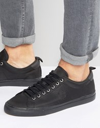 Fred Perry Underspin Nylon Trainers Black