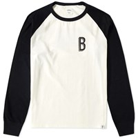 Bedwin And The Heartbreakers Scheff Long Sleeve Motorcycle Tee White