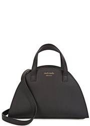 Meli Melo Giada Mini Black Leather Shoulder Bag