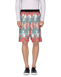 Minimal Trousers Bermuda Shorts Men