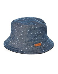 Icon Brand Bucket Hat With Reversible Dot Print