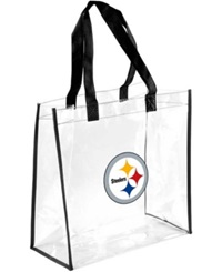 Forever Collectibles Pittsburgh Steelers Clear Tote Bag