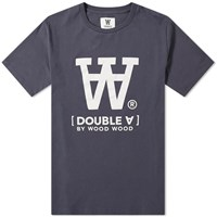 Wood Wood Ace Logo Tee Blue
