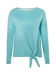 White Stuff Tie Side Jumper Green