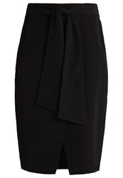 Selected Femme Sfnilam Wrap Skirt Black