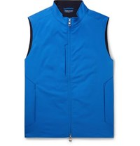 Peter Millar Crown Crafted Stealth Twill Gilet Blue