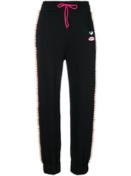 Chiara Ferragni Logomania Candies Track Pants Cotton Xs Black