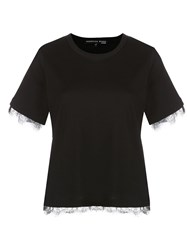 Veronica Beard Lace Trim T Shirt 60