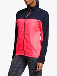 Ronhill Stride Windspeed 'S Running Jacket Hot Pink Charcoal