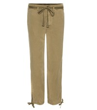 Polo Ralph Lauren Cropped Trousers Green