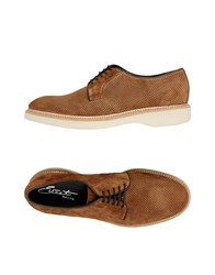 Eveet Lace Up Shoes Brown