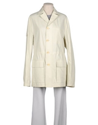 Billtornade Full Length Jackets Ivory