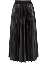 Givenchy Pleated Midi Skirt 001 Black