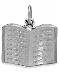 Rembrandt Charms Sterling Silver Book Charm