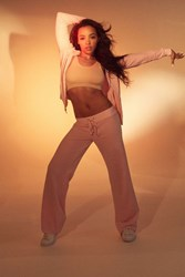Juicy Couture For Uo Mar Vista Track Pant Rose