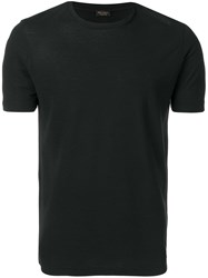 Dell'oglio Relax Fit T Shirt Black