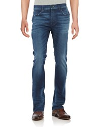 Hudson Jeans Cotton Blend Dismal Denim Dark Wash Dark Blue