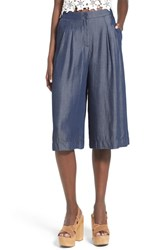 Women's Astr 'Ashley' Chambray Culottes