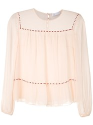 Spacenk Nk Lumen Gabi Silk Blouse Pink