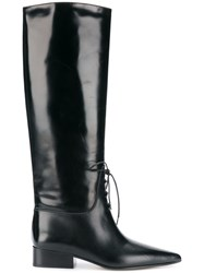 Off White High Boots Black