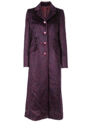 Sies Marjan Button Up Coat Red