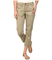 Christopher Blue Neesa Crop Leaf Women's Casual Pants Brown