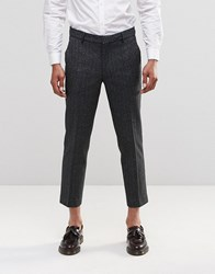 Farah Berkley Crop Lined Trousers Black