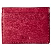 Hush Leather Card Holder Red