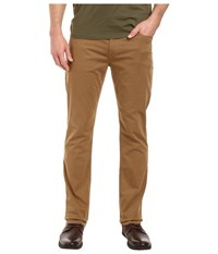 Paige Normandie Slim Straight Leg Brushed Japanese Cotton In Dark Fawn Dark Fawn Men's Jeans Brown
