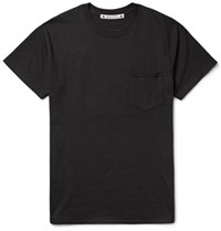 Sasquatchfabrix. Slim Fit Printed Cotton Jersey T Shirt Black
