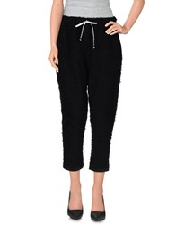Tanomu Ask Me Trousers 3 4 Length Trousers Women Black