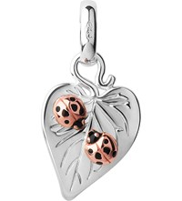Links Of London Love Bugs Sterling Silver And 18Ct Rose Gold Vermeil Valentine Charm
