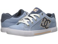 Dc Chelsea Tx Se Navy White Women's Skate Shoes Blue