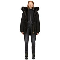 Mackage Black Down And Fur Chara Parka