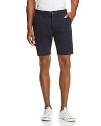 Paul Smith Ps Stretch Cotton Slim Fit Shorts Navy