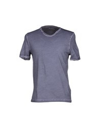 Alpha Studio Topwear T Shirts Men Sand