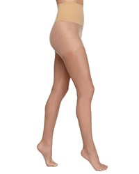 Commando High Waisted Sheer Tights Bronze Gloss