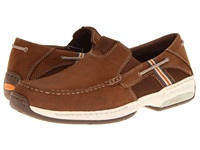 Dunham Windward Brown Men's Slip On Shoes