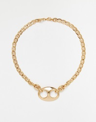 Gogo Philip Chain Necklace Gold