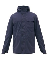 Canada Goose Nanaimo Technical Stretch Hooded Jacket Navy