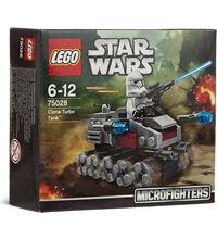 Lego Star Wars Microfighters Clone Turbo Tank