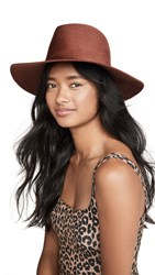 Janessa Leone Caden Hat Burnt Orange