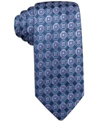John Ashford Scott Medallion Tie Only At Macy's Purple