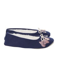Radley Scribble Dog Ballerina Navy
